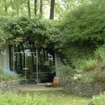 maison enterrée et intégrée dans le paysage
