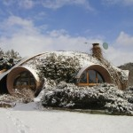 maison Antonio Beninca sous la neige