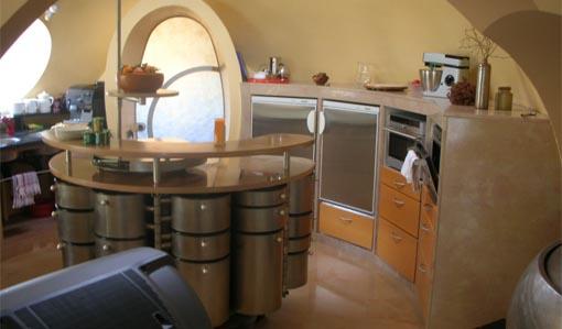 cuisine mobile design Antti Lovag