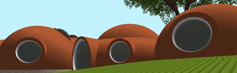 projet 3D maison bulle Laeticia et Simon près de Reims