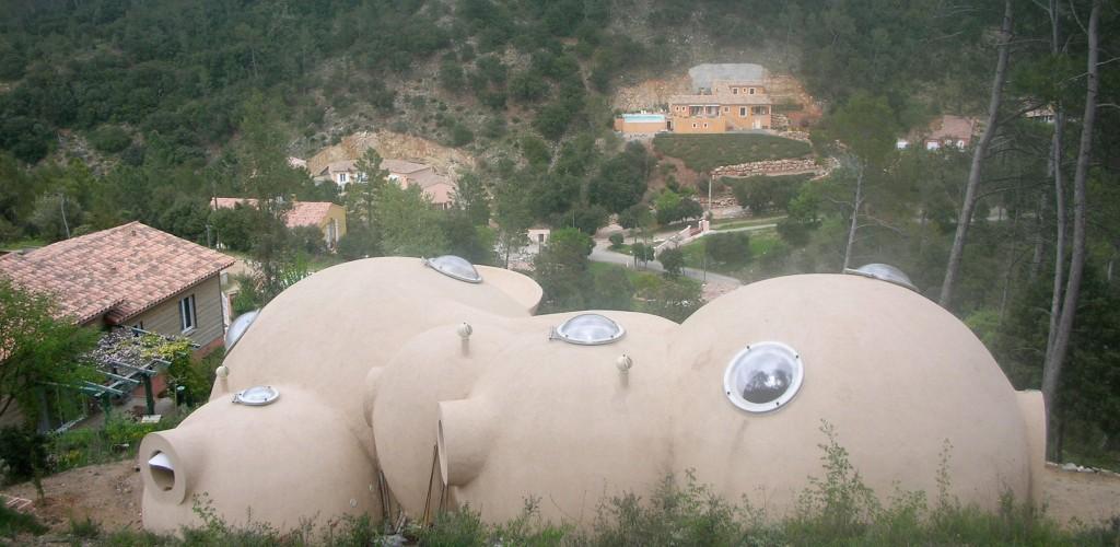 maison bulle Vidauban