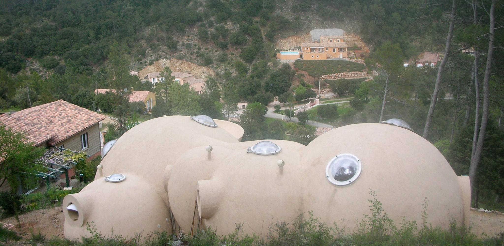 J rome peyret for Maison en bulle