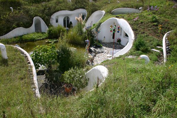 la maison bulle enterrée est elle bioclimatique ?