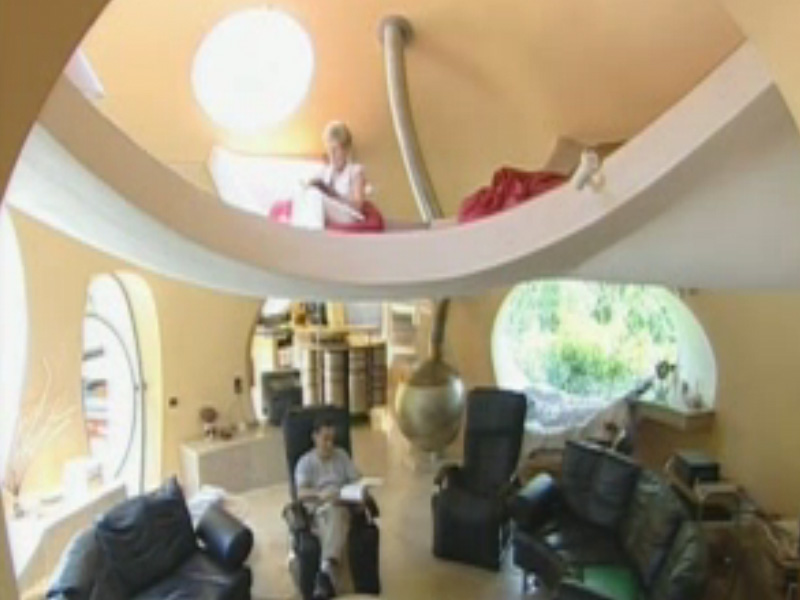 vidéo maison bulle Christian Roux