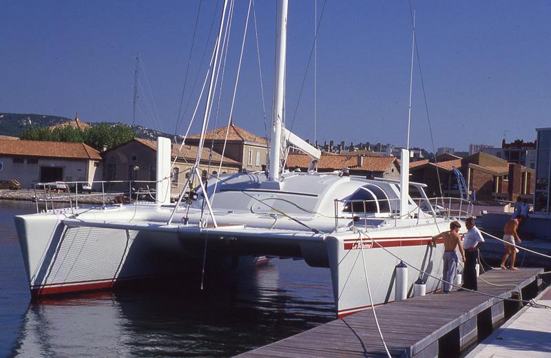 catamaran la bohème, Jean-Michel Ducancelle