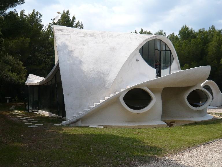 maison bulle de Visan