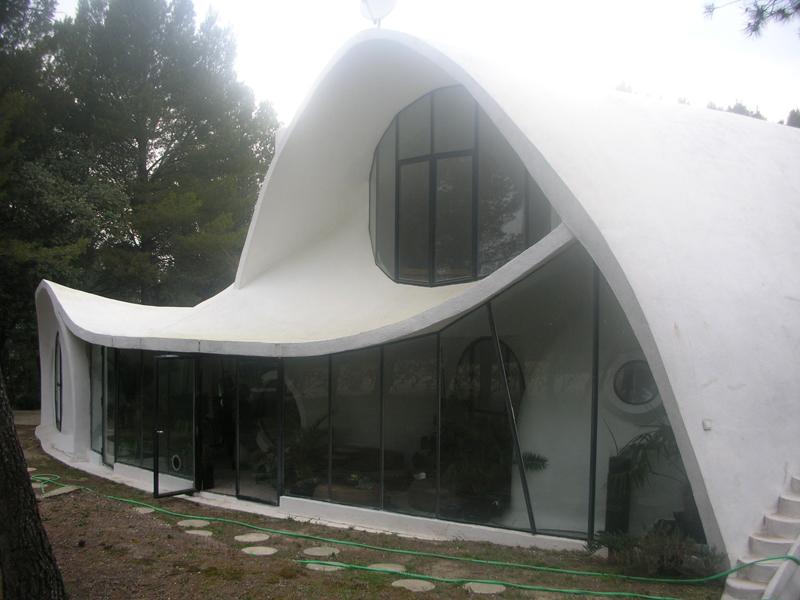 La maison butscher visan - Maison bulle transparente prix ...