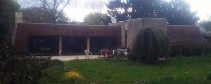 maison bioclimatique Odile coté sud