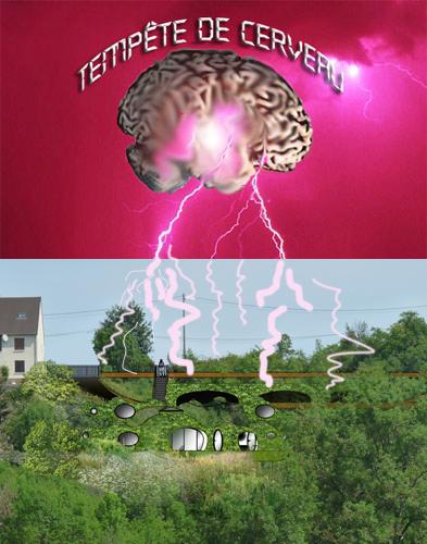 tempête de cerveaux à la maison bulle de montgivray