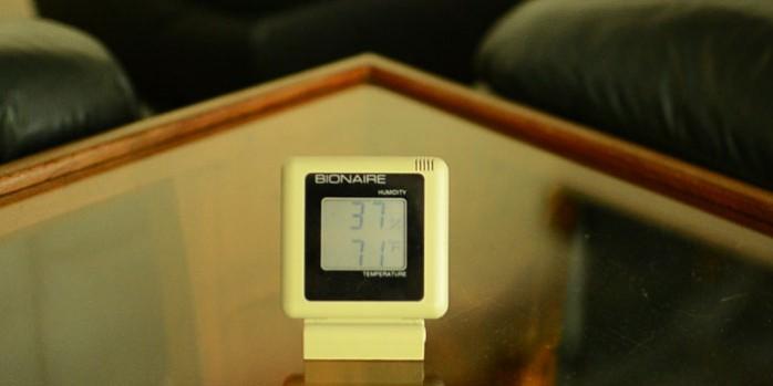 temperature maison tom