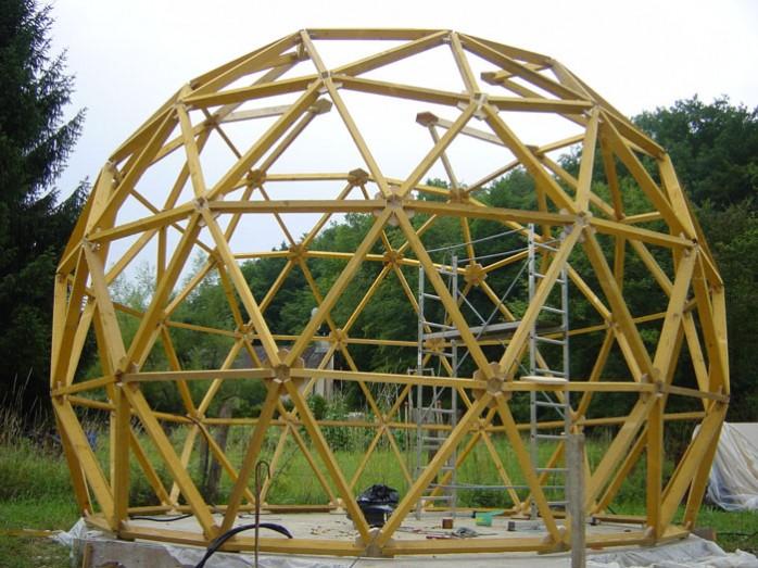 dome baldini structure terminé