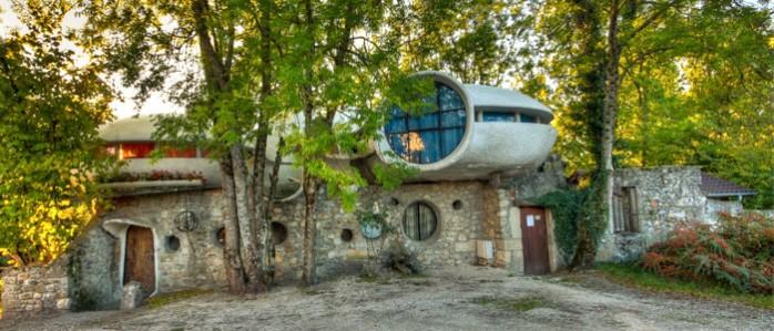maison bulle de Minzier
