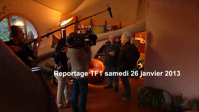 reportage tf1 maisons bulles