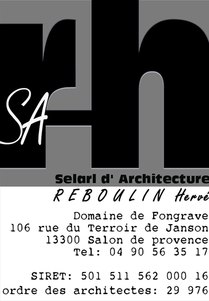 contact architecture Hervé Reboulin