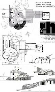plan maison bulle de Varages