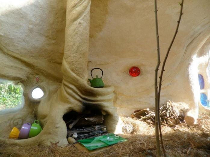 l'intérieur d'une kerterre