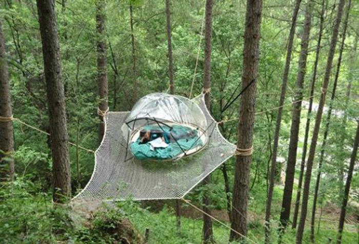 Ce n est pas une tente c est un igloo - Tente bulle transparente ...