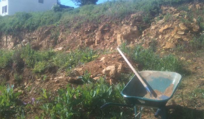 assainissement-eaux-usees-acces-chantier-difficile