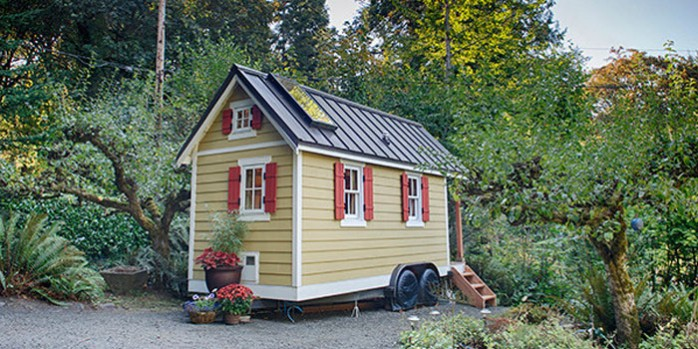 tiny house en bois
