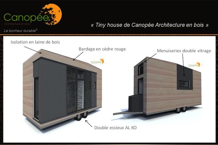 tiny house contemporaine