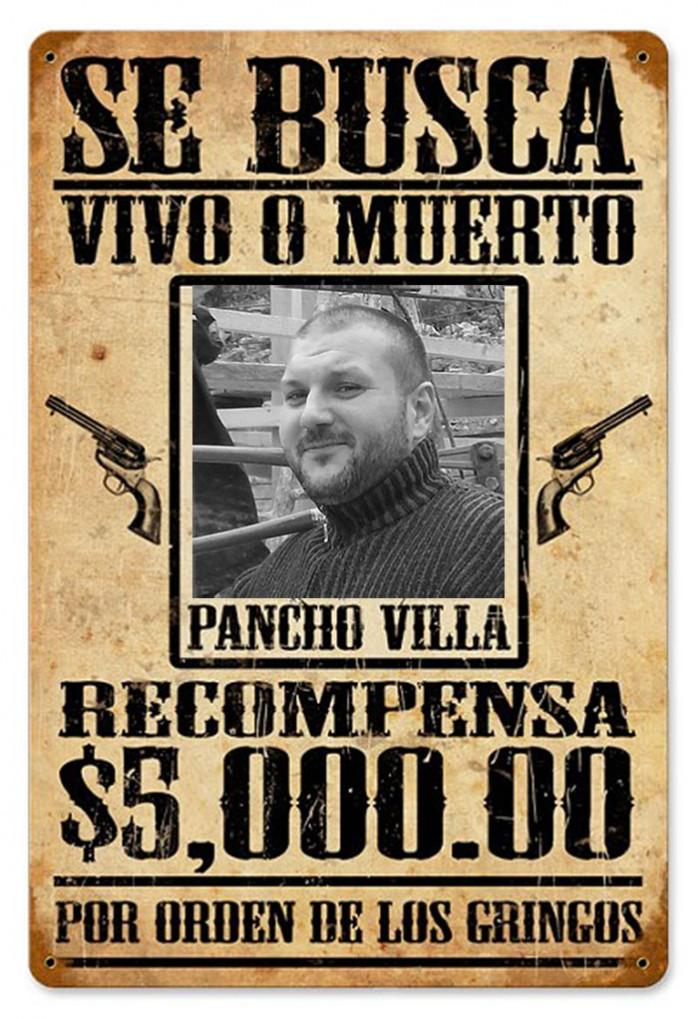 reward pancho villa