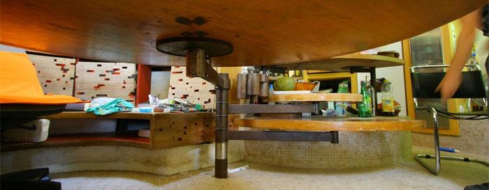 maison contemporaine table repas