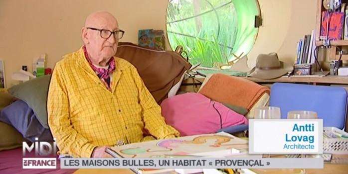 Midi en France et Antti Lovag