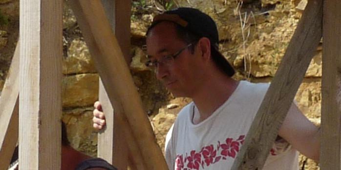 Jimmy travaillant sur la tour centrale