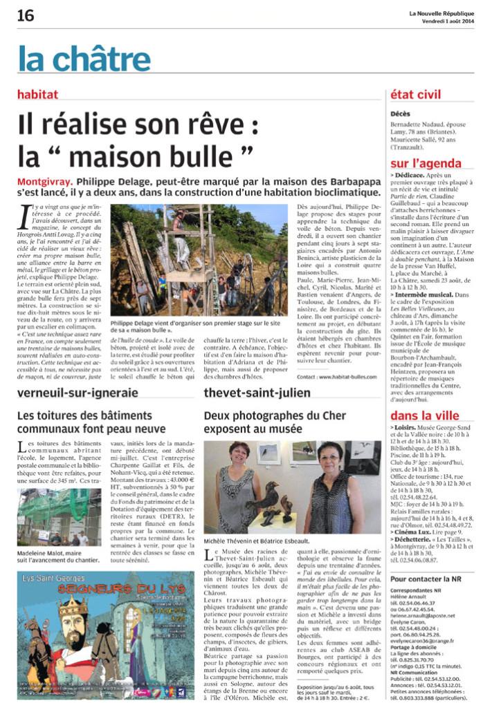 NR 36 article de presse complet