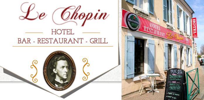 George Sand, hôtel Chopin à La Châtre