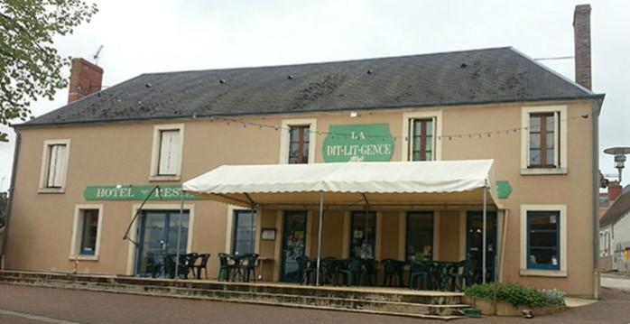 George Sand, hôtel la Dit-Lit-Gence à La Châtre