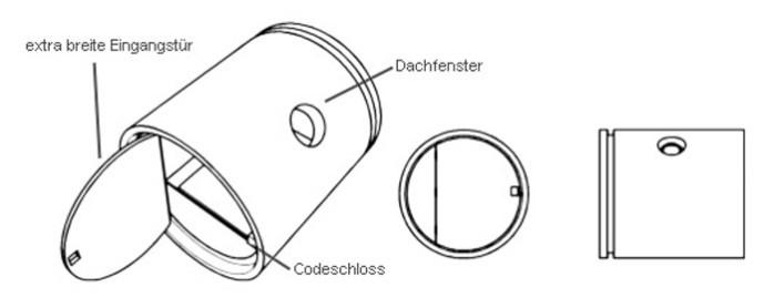 dessin tube béton