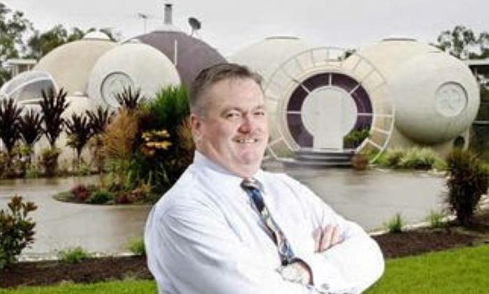 graham birchall architecte maison bulle australie