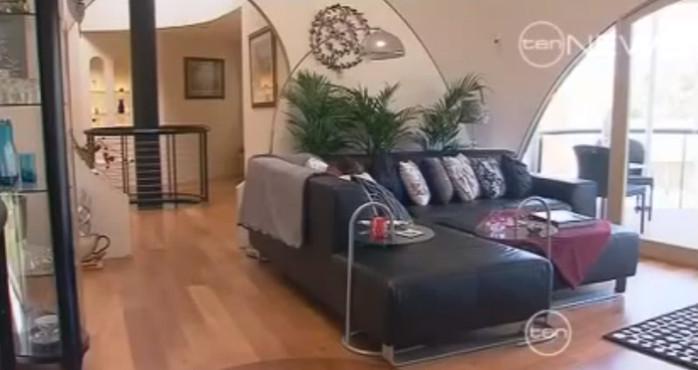 intérieur de la maison de Graham