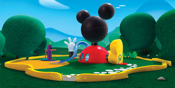 Image Result For Maison De Mickey Mouse