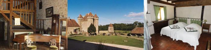 dormez au château de Sarzay