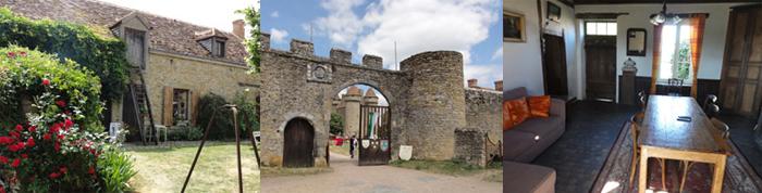 le gite du château de Sarzay