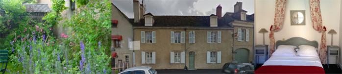 Les roses trémières, 2 chambres d'hôtes à La Châtre