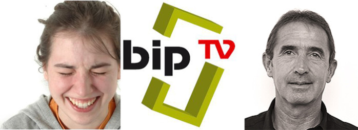 Mathilde Duplessi et Laurent Fortat de Bip Tv