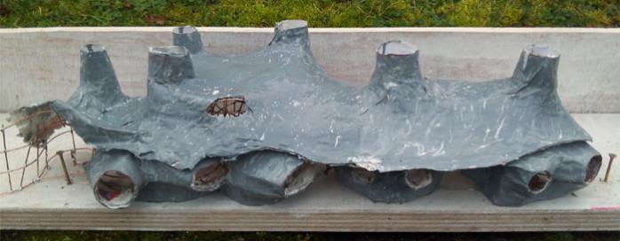 simulation voile de beton