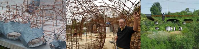 maison bulle bioclimatique de Montgivray