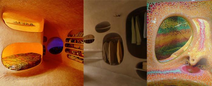 puits de lumière, chambre Javier Senosiain
