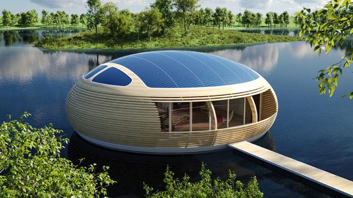 bungalow flottant