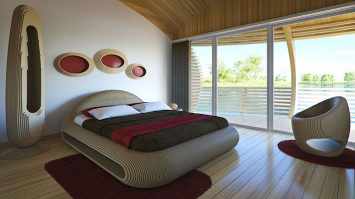 chambre bungalow waternest