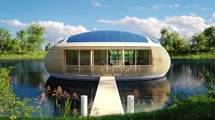 Assez Un bungalow flottant en forme de bulle, ça vous dit ? | KM44