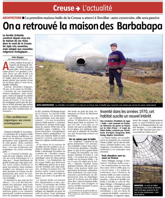 article sur les barbapapa