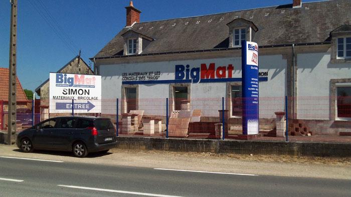 magasin big mat a saint aout dans l'indre