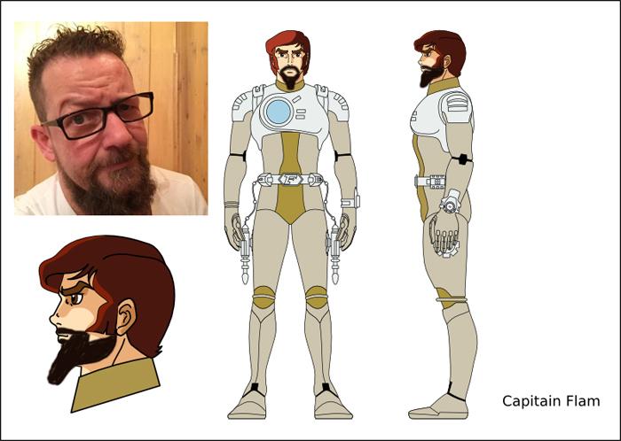 le vrai capitaine Flam
