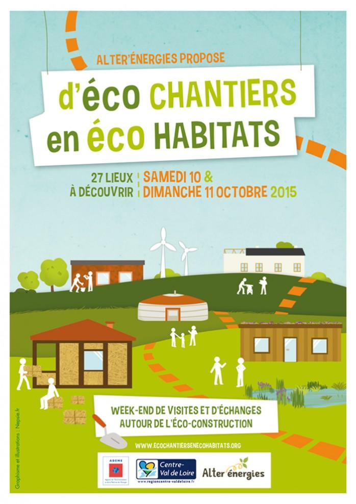 affiche eco chantier