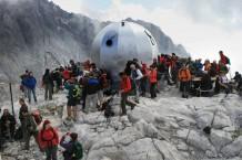 100 montagnards rendent hommage a Mariano Sanchez